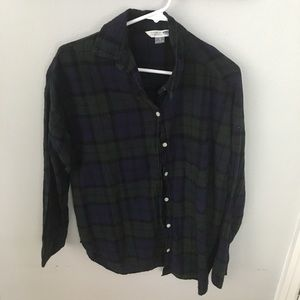 Boyfriend Plaid Shirt